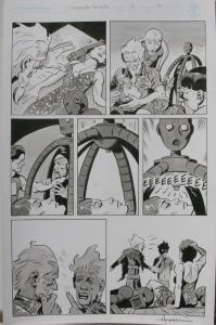 TIGRESS TALES #5 Original Mike Hoffman art, Page #17, Signed, published