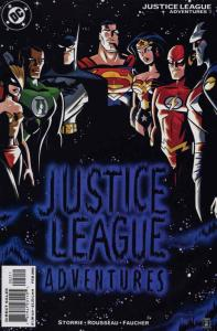 Justice League Adventures #2 VF/NM; DC | save on shipping - details inside