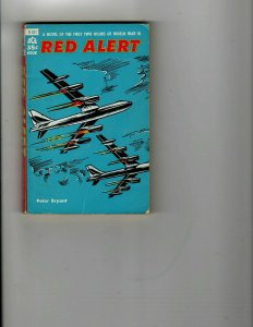 3 Books Red Alert Men Are Such Fools Flying Saucers-Serious Business JK28