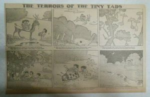 The Terrors of the Tiny Tads by Gustave Verbeek from ?/1906 Half Page Size!