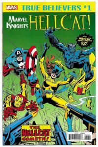 True Believers Hellcat First Appearance #1 Avengers #144 Reprint (2018) NM