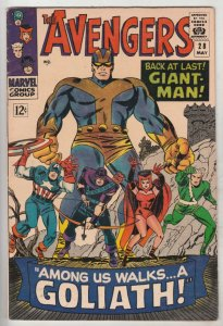 Avengers, The #28 (May-66) VF/NM High-Grade Avengers