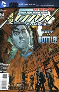 Action Comics (2nd Series) #7 VF/NM; DC | save on shipping - details inside