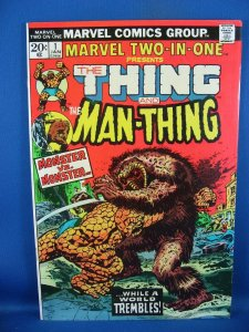 Marvel Two-In-One #1 (Jan 1974, Marvel) VF NM FIRST ISSUE