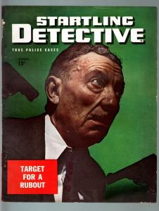 STARTLING DETECTIVE MAR 1946-TARGET FOR A RUBOUT-PULP-TRUE CRIME FN/VF