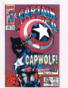 Captain America #405 VF/NM 1st Print Marvel Comic Book Avengers Thor Hulk DE2