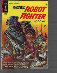 Magnus Robot Fighter #25 (Dell, 1969) F+