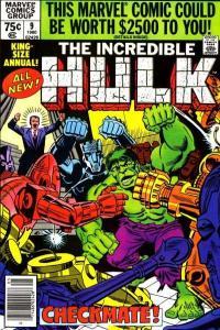 Incredible Hulk (1968 series) Annual #9, Fine+ (Stock photo)