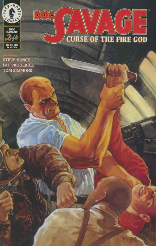 Doc Savage: Curse of the Fire God #2 VF/NM; Dark Horse | combined shipping avail