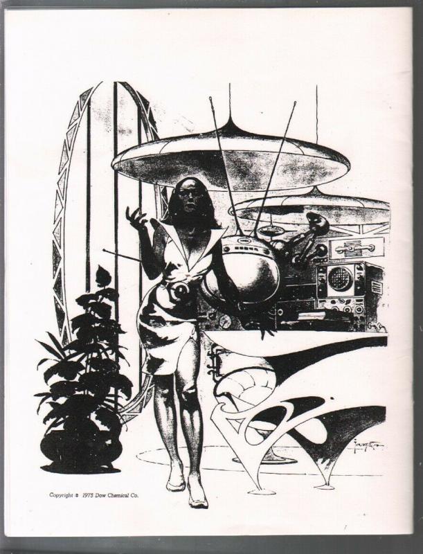 Frank Frazetta Art Index 1975-Nardeli-checklist of Frazetta art in many media...