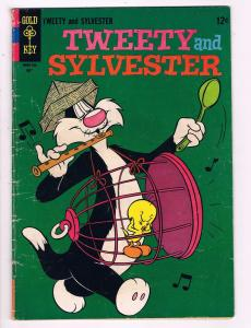 Tweety & Sylvester #6 FN/VF Gold Key Comic Book 1963 DE7