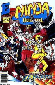 Ninja High School in Color #8 (Newsstand) VF; Eternity | save on shipping - deta