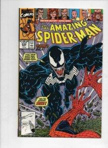 Amazing SPIDER-MAN #332, VF, with Venom, 1963 1990, Sunday in the Park, Marvel