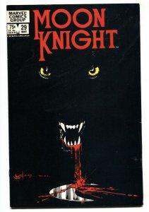 Moon Knight #29 1983-Werewolf (Jack Russell) appearance