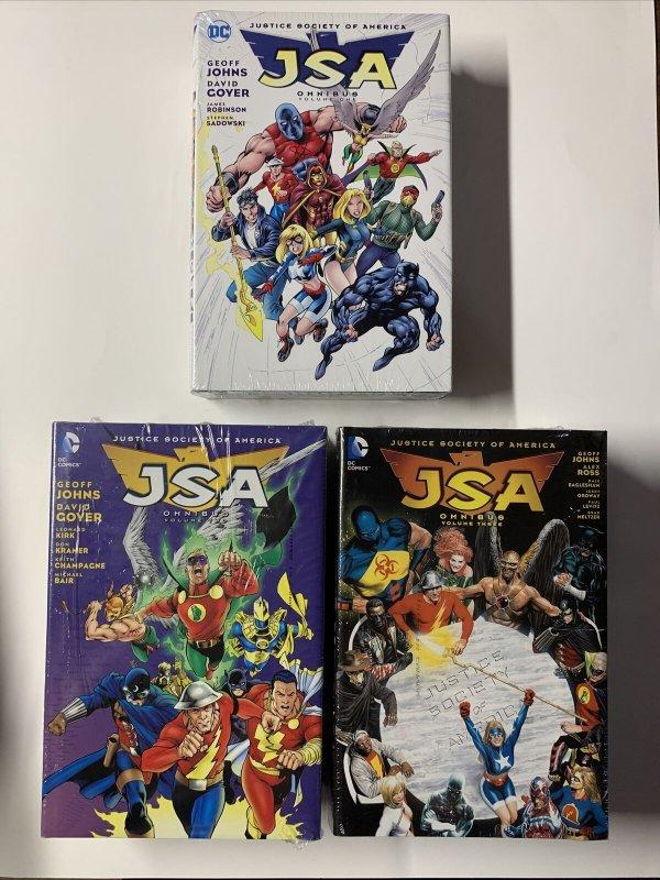Jsa Justice Society Of America Omnibus V Vol Volume 1 2 3 Complete Mint Sealed