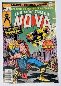 Nova #4 (Dec 1976, Marvel) VF/NM 9.0 1st app the Corruptor, Thor appearance