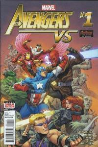 Avengers Vs #1, NM + (Stock photo)