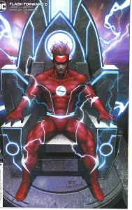 Flash Forward 6  In-Hyuk Lee Variant  9.0 (our highest grade) Wally Dr. M Powers