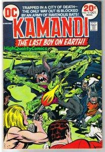 KAMANDI #10, FN+, Jack Kirby, Last Boy on Earth, 1972, more JK in store