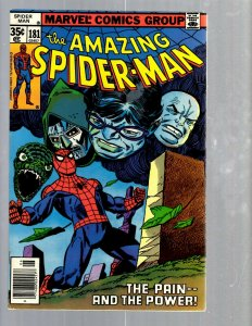 Amazing Spider-Man # 181 VF/NM Marvel Comic Book MJ Vulture Goblin Scorpion TJ1