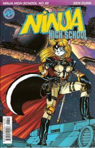 Ninja High School #86 VF/NM; Malibu | save on shipping - details inside