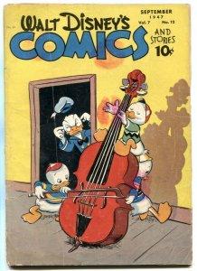 Walt Disney's Comics and Stories #84 1947- Donald Duck G/VG