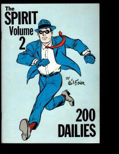 The Spirit Volume 2 200 Dailies By Will Eisner Graphic Novel Comic Book 1980 NE3
