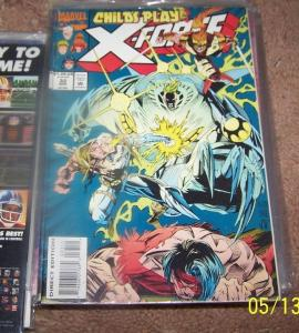 X FORCE # 33  MARVEL CABLE    WARPATH CANNONBALL  XMEN