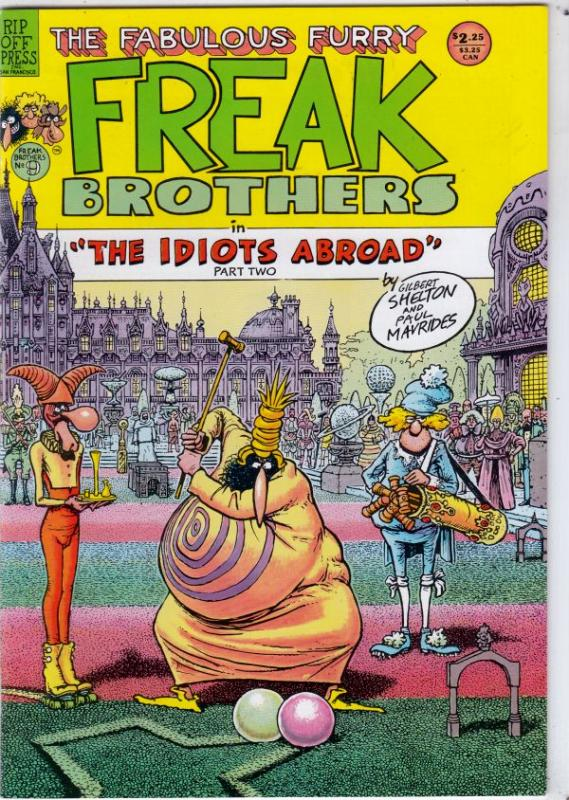 Fabulous Furry Freak Brothers #9 (Jan-85) NM- High-Grade The Freak Brothers (...