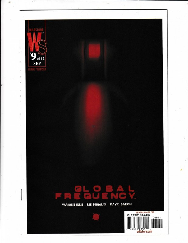GLOBAL FREQUENCY#9  FN/VF   WILDSTORM COMICS