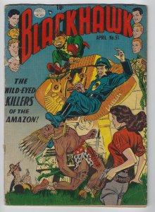 Blackhawk #51, April 1952