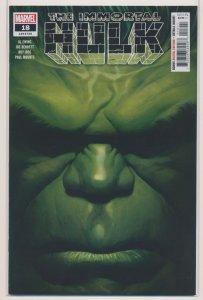 The IMMORTAL HULK #18, Alex Ross Cover, Marvel Comics 2019 NM