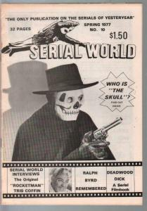 Serial World #10 1977-Kretzer-Deadwood Dick-Rocketman Tris Coffin-VG