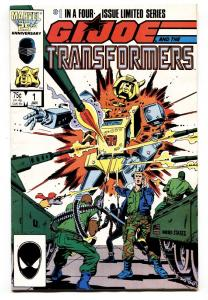 G.I. Joe and the Transformers #1-1987-MARVEL COMICS-First issue