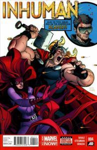 Inhuman #4 VF/NM; Marvel | save on shipping - details inside
