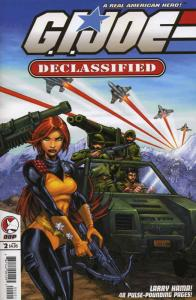 G.I. Joe Declassified #2A VF/NM; Devil's Due | save on shipping - details inside