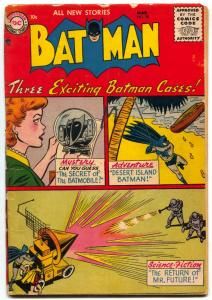 Batman #98 1956- Secret of the Batmobile-DC Silver Age G/VG