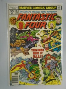 Fantastic Four #183 News Stand edition 6.0 FN (1977 1st Series)