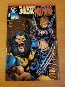 Ballistic / Wolverine #1 ~ NEAR MINT NM ~ (1997, Top Cow / Marvel Comics)