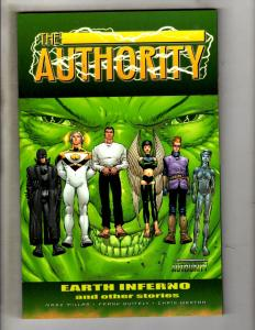 The Authority Image Comics TPB Graphic Novel Comic Book Earth Inferno MF6