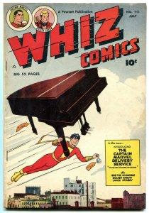 WHIZ COMICS #111 1949-CAPT MARVEL-GOLDEN ARROW-IBIS FN
