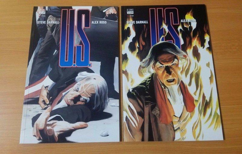 US 1-2 Complete Set Run! ~ NEAR MINT NM ~ 1997 DC / Vertigo Comics