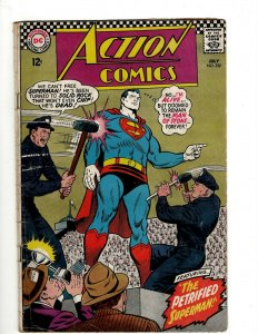 Action Comics # 352 VG DC Comic Book Superman Batman Green Lantern Flash KD1