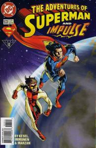 Adventures of Superman #533 VF; DC | save on shipping - details inside