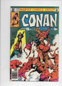 CONAN the BARBARIAN #123 124 125 FN  Buscema, Howard, 1970 1981, Witches