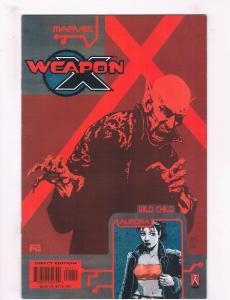 Weapon X: The Draft #1 NM Marvel Comics Comic Book Wild Chile 2002 DE30