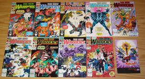New Warriors #1-75 VF/NM complete series + annual 1-4 + ashcan - mark bagley set