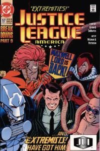 Justice League (1987 series) #57, NM- (Stock photo)