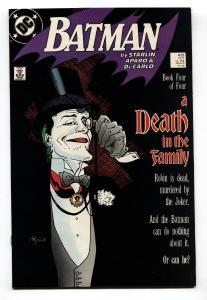 BATMAN #428 JOKER cover-comic book-1988 NM-