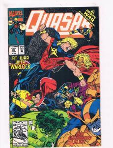 Quasar # 38 VF/NM Marvel Comic Books Thanos Nova Guardians Of The Galaxy!!!! SW9